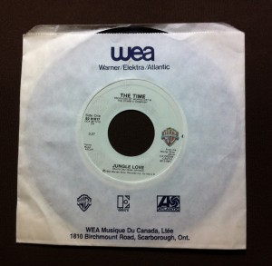 "The Time - Jungle Love 7"" single"