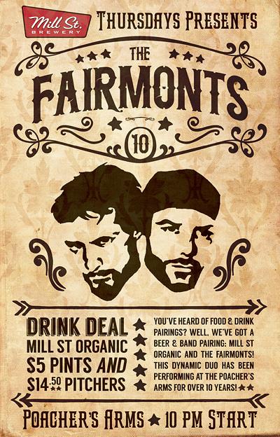 The Fairmonts Poacher's Arms Thursdays