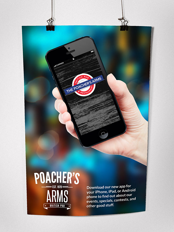 Poacher's Arms Promo Poster | Cowbell Nation